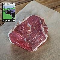 モーガン牧場ビーフ アメリカ産牛肉 熟成 高品質 アイオブラウンド ローストカット しきんぼ アメリカンビーフ ホルモン剤や抗生物質不使用 950g