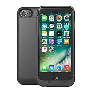 AVIDET iPhone 7 ケース 充電器 バッテリーケース 3200mAh iPhone6s / iPhone6 急速充電 モバイルバッテリー内蔵ケース (ブラック)