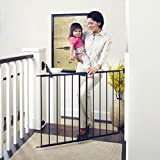 """Easy Swing & Lock Gate, Bronze, Fits Spaces between 28.68"""" to 47.85"""" Wide and 31""""high"""