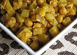 Caribbean Curried chickpeas and Potato: A vegetarian delight by [Liquidations, Dreammakers]