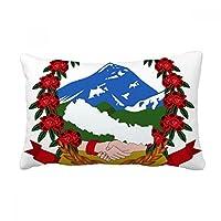 ネパールはアジアの国家エンブレム 腰枕の挿入のクッション・カバー/装飾家のソファのギフトを投げる