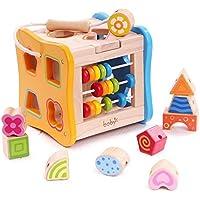 多機能幼児期早期教育開発木製パズルおもちゃ箱、年齢のための誕生日プレゼント玩具3 4 5子供の子供の幼児の赤ん坊の男の子の女の子