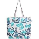 EcoRight Canvas Large Tote Bag - Reusable 100% EcoFriendly Printed