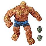 Marvel Legendsシリーズ ファンタスティック 4 6インチ コレクティブル アクションフィギュア マーベルズ・シング・トイ プレミアムデザイン アクセサリー1個 組み立てパーツ2個