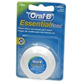 ORAL-B DENTAL FLOSS ESSENTIAL MINT WAX 50M - 1 PACK by Oral-B