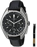 (ブローバ)Bulova 腕時計 メンズ Men`s Leather Strap Moon Watch 96B251[並行輸入品]gellmoll