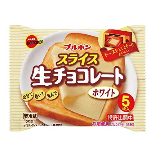 ブルボン スライス 生チョコレートホワイト 12袋入