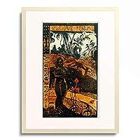 ポール・ゴーギャン Eugene Henri Paul Gauguin 「Nave Nave Fenua」 額装アート作品