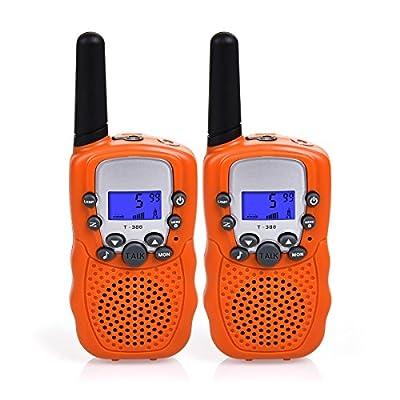 Swiftion Kids Walkie Talkies Long Range Two Way Radios 22 Channel Walky Talky FRS Walkie Talkies for Kids
