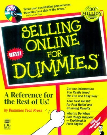Download Selling Online for Dummies 0764503340