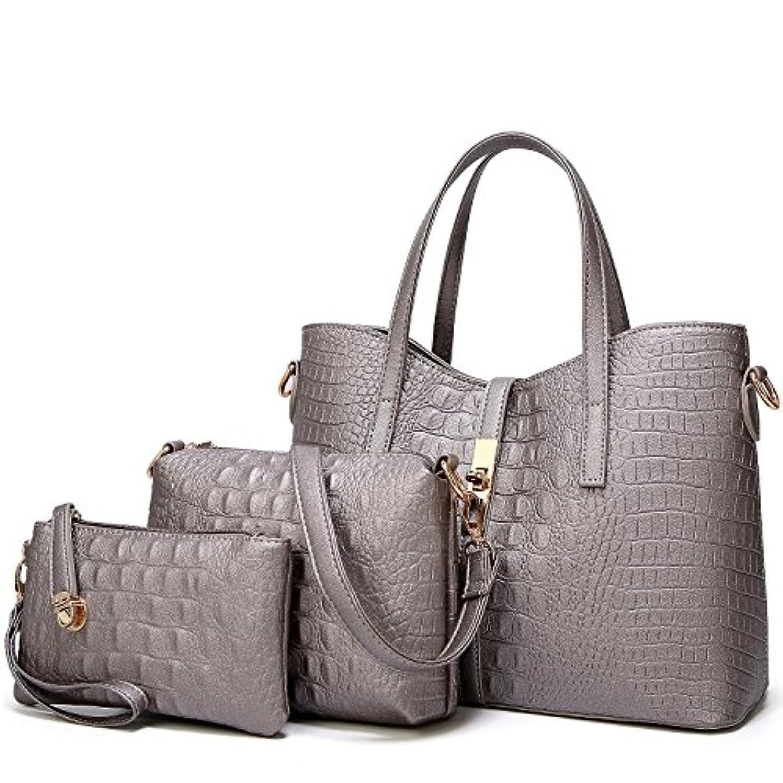 ウサギ華氏エンジニアリング[TcIFE] ハンドバッグ レディース トートバッグ 大容量 無地 ショルダーバッグ 2way 財布とハンドバッグ