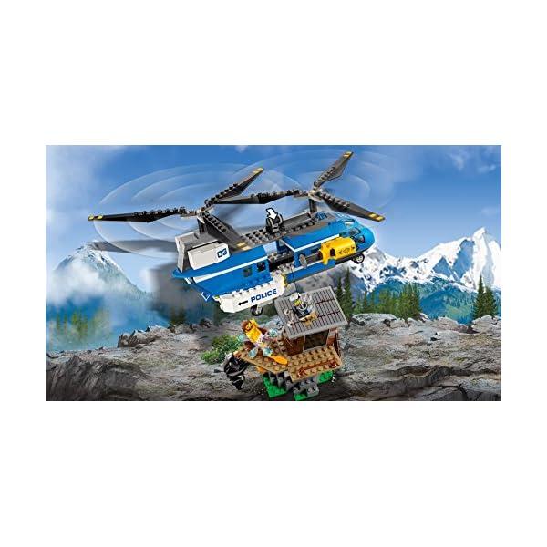 レゴ(LEGO) シティ 山の逮捕劇 60173の紹介画像9