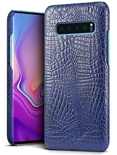 Samsung Galaxy S10ケース 【SLEO】Samsung Galaxy S10レザー 軽量 スマホケース レンズ保護 復古調 本革 S...