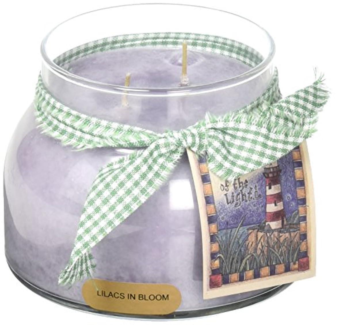 理容師ボート花嫁A Cheerful Giver Lilacs In BloomベビーJar Candle 22oz JM80