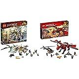レゴ(LEGO) ニンジャゴー 究極のウルトラ・ドラゴン:アルティメルス 70679 ブロック おもちゃ 男の子 & レゴ(LEGO)ニンジャゴー 伝説のエレメント・ドラゴン:メリュジーナ 70653【セット買い】