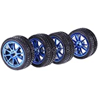 RCホイールリムゴム製タイヤタイヤFits for 1 / 10 HSP HPI On Road Car 6002 – 6085