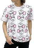 [ヨッシースタンプ] Tシャツ 半袖 メンズ カットソー キャラクタープリント 柄3 L