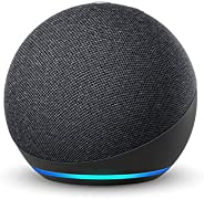 All-new Echo Dot (4th Gen) | Smart speaker with Alexa | Charcoal