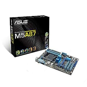 ASUSTek マザーボード AMD SocketAM3+/DDR3メモリ対応 ATX M5A87