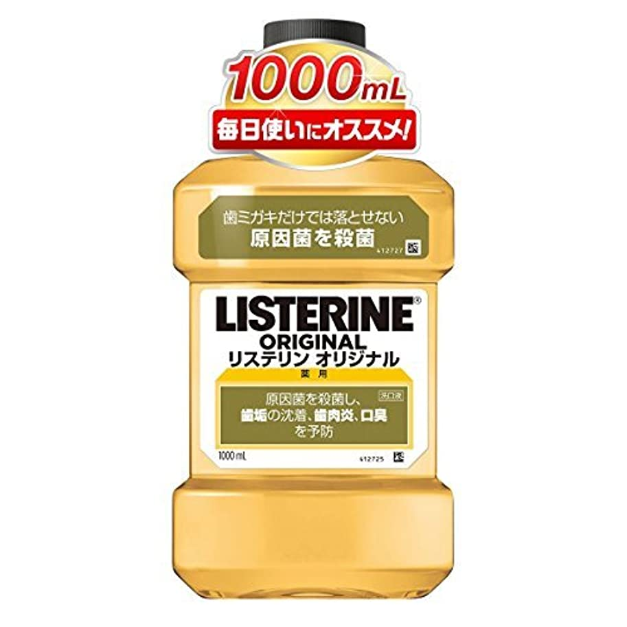 花瓶祈る文言薬用リステリン オリジナル 1000ml ×6個セット
