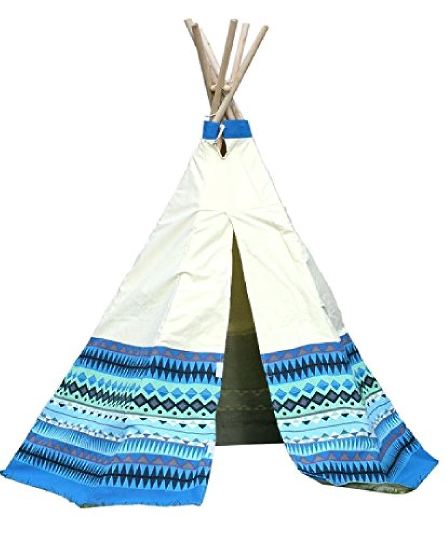 [ガーデンゲーム]Garden Games Teepee Play Tent Aztec Wigwam Design [並行輸入品]