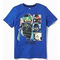 レゴ、LEGO、ニンジャゴー、半袖Tシャツ、青、子供用 OLD NAVY/LEGO NINJAGO, MOVIE, T-Shirt, Kids, Blue