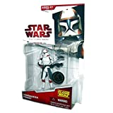 Star Wars 2009 Clone Wars Animated Exclusive Action Figure Commander Ponds