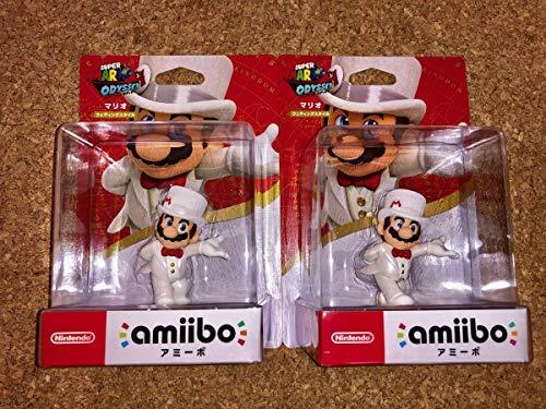amiibo マリオ ウェディングスタイル スーパーマリオシリーズ アミーボ 2個セット 任天堂