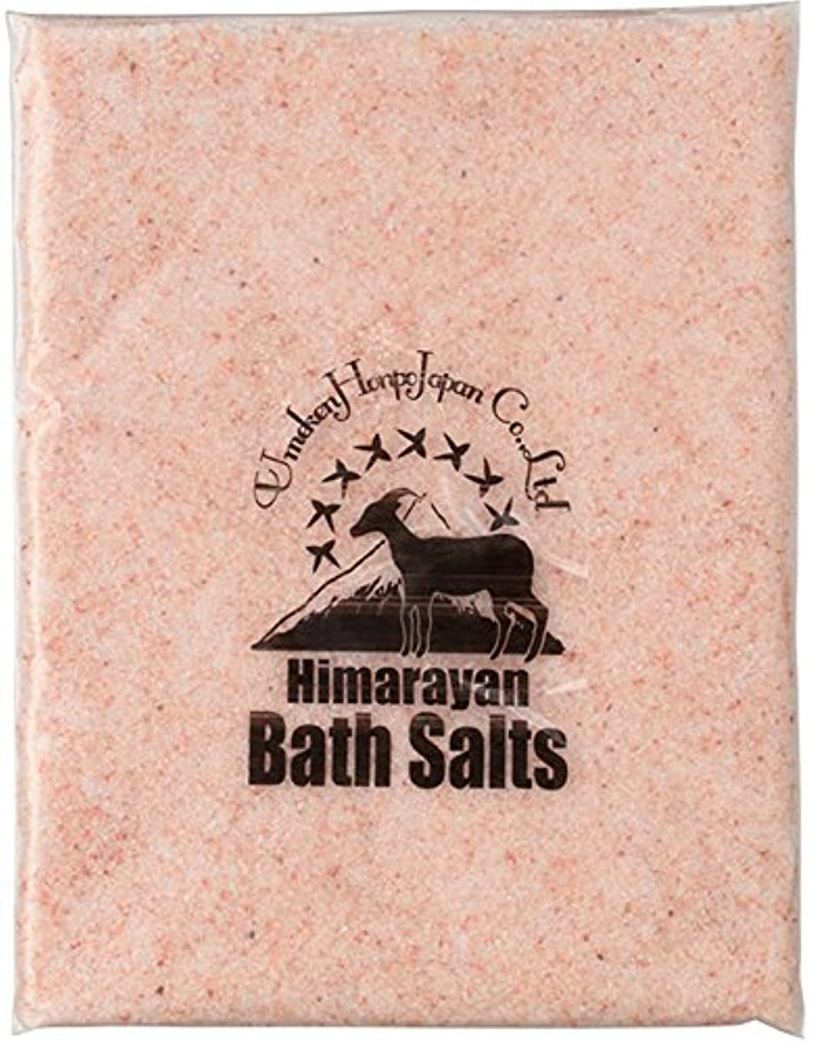終わりちょうつがいペダルヒマラヤ岩塩 バスソルト ピンク あら塩 1kg