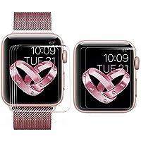 【6枚セット】BRG コンパチブル apple watch フィルム,アップルウォッチ HD画面保護 TPUスクリーン 保護シート アップルウォッチフィルム apple watch series 3,apple watch series 2,apple watch series 1対応 (42mm,クリア)