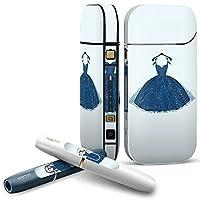 iQOS 2.4 plus 専用スキンシール COMPLETE アイコス 全面セット サイド ボタン スマコレ チャージャー カバー ケース デコ おしゃれ ファッション ドレス 010263