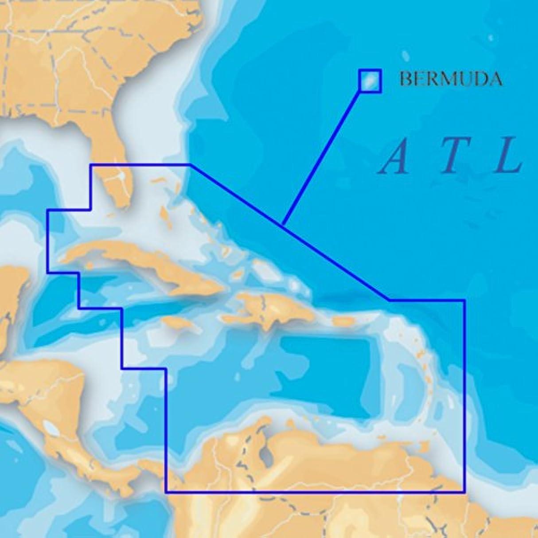 ボーダー難民神経障害SD /マイクロSDでNavionicsプラチナカリブ海