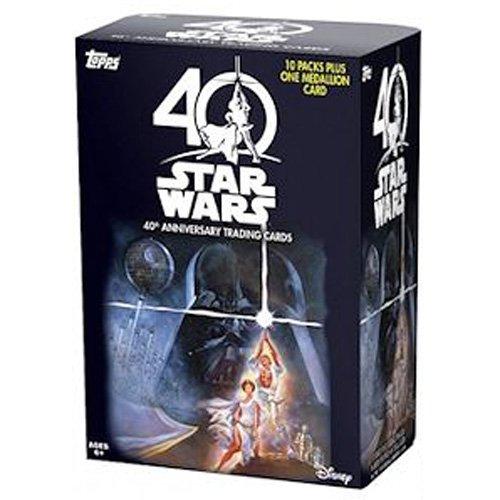 スター・ウォーズ 40周年記念 トップス トレーディングカード バリューボックス 1ボックス (トレーディングカード60枚入り) / STAR WARS 40TH ANNIVERSARY TOPPS 2017 TRADING CARDS VALUE BOX 最新 映画 T/C 限定 [並行輸入品]