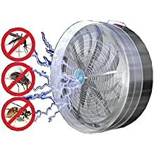 Pinkdose®As Show, China : Hot Sale Summer Solar Powered Buzz Uv Lamp Light Bedroom Fly Insect Bug Indoor Outdoor Mosquito Repeller Kill Zapper Killer