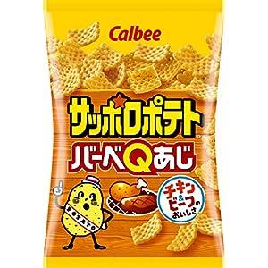カルビー サッポロポテト バーベQあじ 85g × 12袋