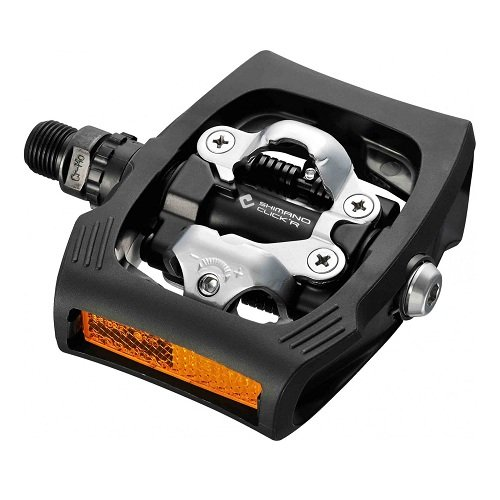 シマノ 両面SPDペダル CLICK'R PEDAL PD-T400 ブラック EPDT400LR