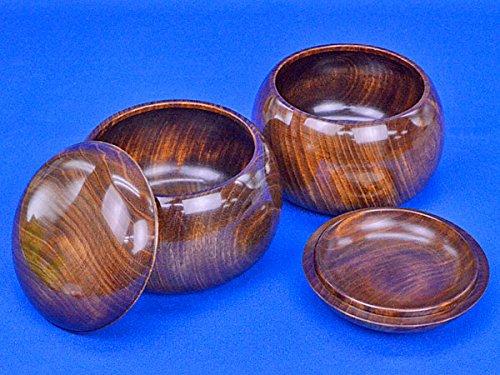 楠 特大 (上) 木製碁笥