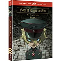 Saga Of Tanya The Evil Blu-Ray/DVD