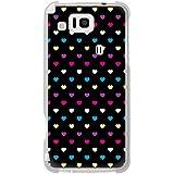 CaseMarket 【ポリカ型】 au AQUOS PHONE CL IS17SH ポリカーボネート素材 ハードケース [ レインボーハート 50S ]