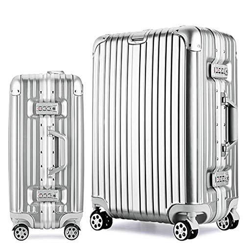 Osonmアルミニウムマグネシウム合金製 スーツケース キャ...