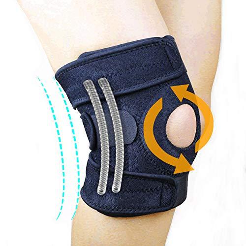 膝サポーター 膝固定 関節靭帯保護 膝 痛み半月板 怪我防止用 スポーツに 左右兼用 男女兼用