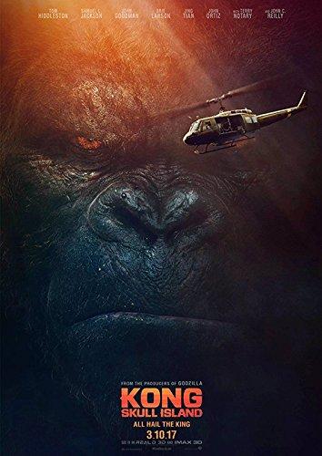 映画 キングコング:髑髏島の巨神 ポスター 42x30cm KONG:SKULL ISLAND 2017 トム ヒドルストン ブリーラーソン サミュエル L ジャクソン
