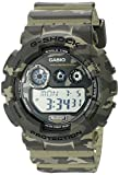 カシオ 腕時計 G-SHOCK Camouflage Series(カモフラージュシリーズ) グリーン系 [逆輸入品] GD-120CM-5CR