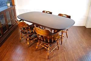 飛騨産業キツツキ穂高ダイニングテーブル英国カフェ中古家具131015031