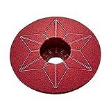 スパカズ SUPACAZ STAR CAPZ アルミトップキャップ Red レッド anodized
