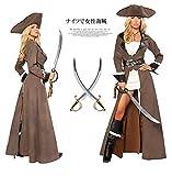 ハロウィン 海賊 魔女 騎士 女性海賊風 大人用 華麗な天使と悪魔 衣装 コスチューム 制服 パーティー服 コスチューム・ハロウィン衣装 コスプレ,仮装,変装,服
