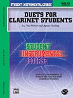 Student Instrumental Course, Duets for Clarinet Students, Level I