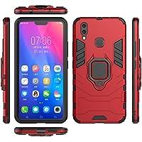 Vivo X21 シェル-Lovebee スリム シェル [ 携帯電話ケース ] 〜と Cellphone Case ドロッププロテクション の Vivo X21 (Red)