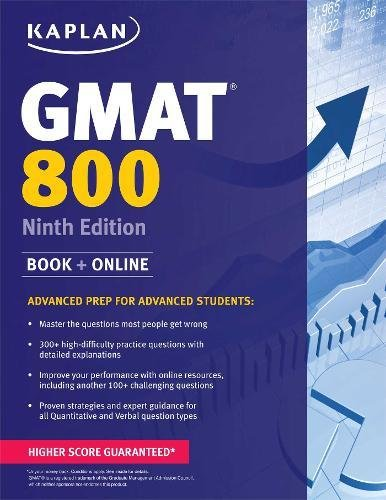 Download Kaplan GMAT 800 (Perfect Score Series) 1618654063