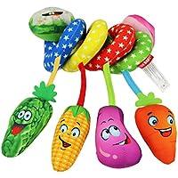 ベビーベッド おもちゃ 車に飾る上品な美しさ おもちゃ ベジタブル 認知 キュート